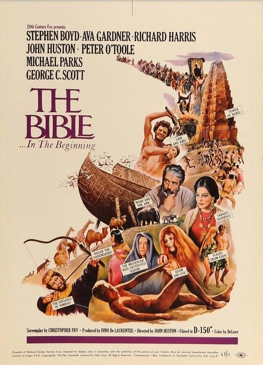 THE BIBLE BOX OFFICE USA 1966