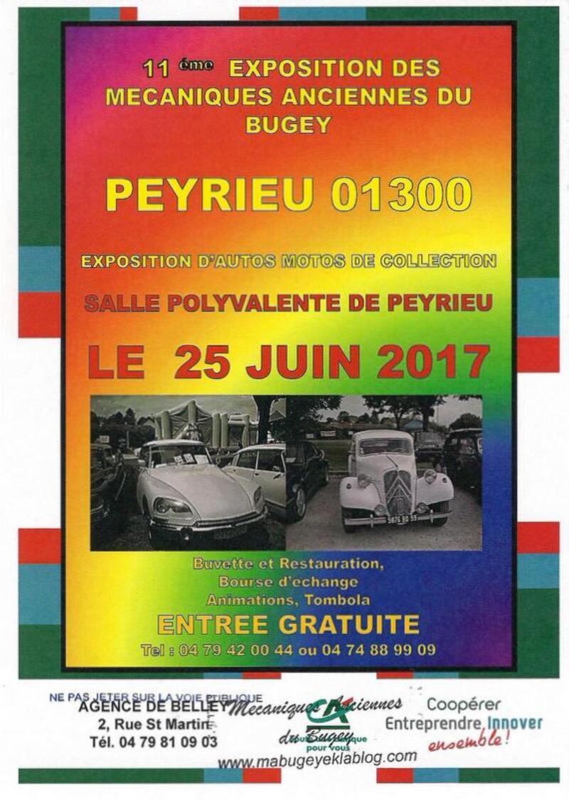 Exposition des Mécaniques Anciennes du Bugey