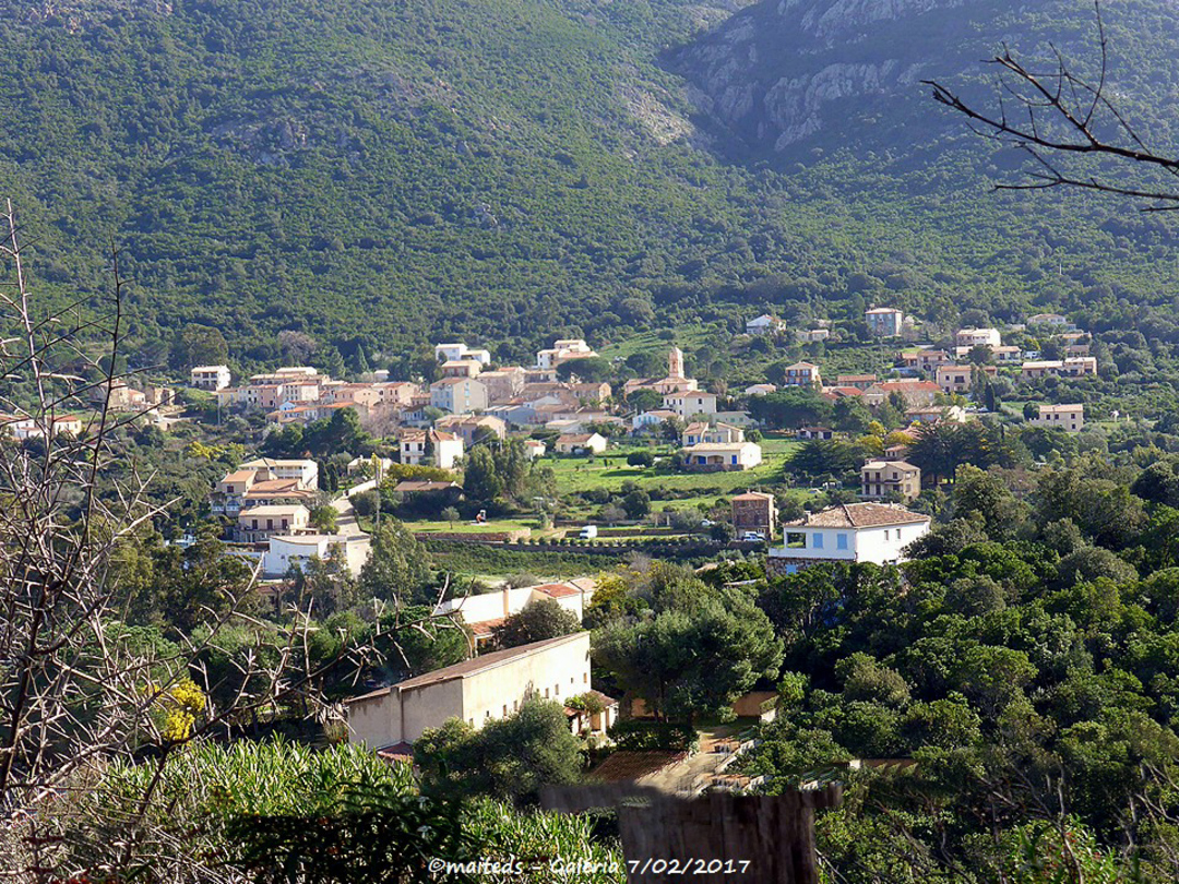 village de Galéria - Corse - 7/02/2017