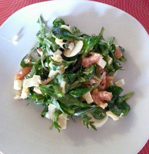 Salade de roquette
