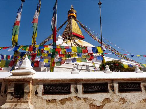 le stupa de Bothnath; d'autres images;