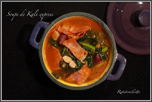 Soupe de Kale express