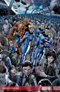 Fantastic Four - Mark Millar & Bryan Hitch