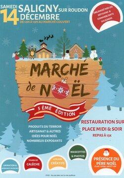 Marché de Noël - Saligny-Sur-Roudon, 14 Décembre 2019