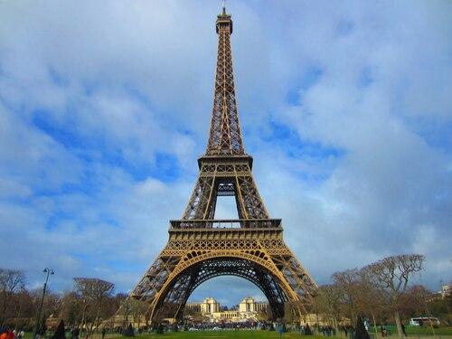 La tour Eiffeil :