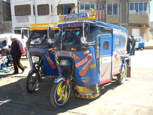 On roule au Pérou