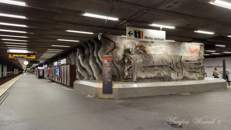 Suède : le métro de Stockholm 2/2