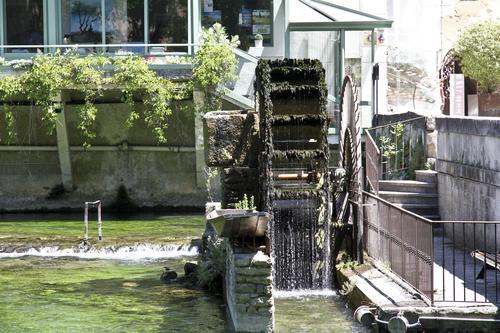 La fontaine du Vaucluse
