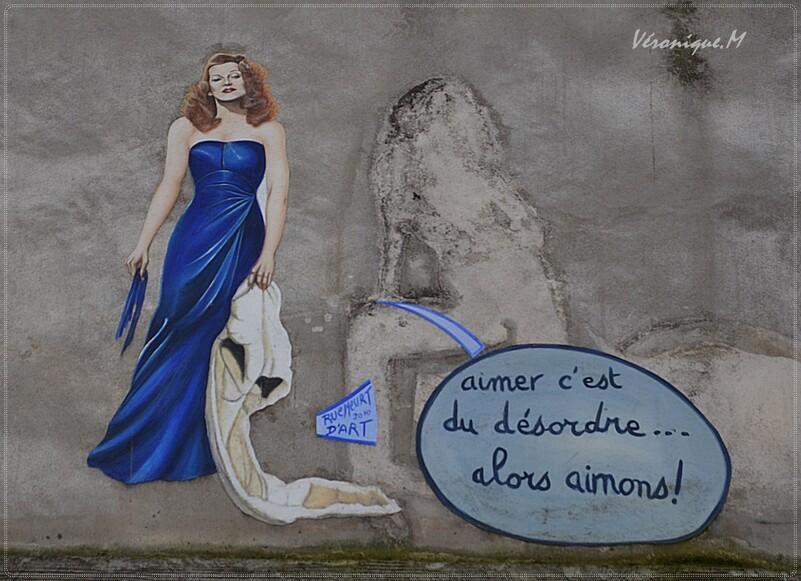 """Montmartre : Le Mur des """" Je t'aime"""""""