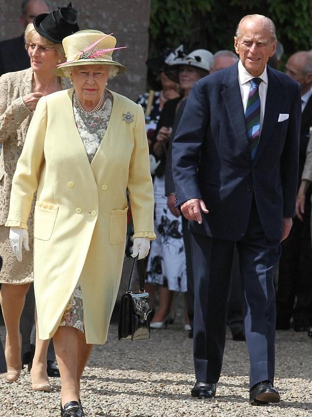 Elizabeth et Philip à Edimbourg