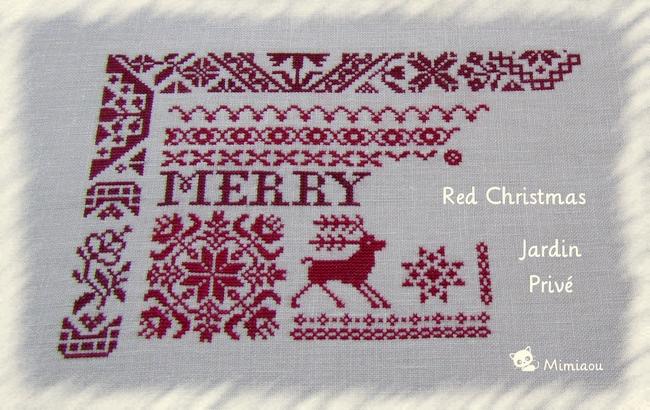 Red Christmas de Jardin Privé 1
