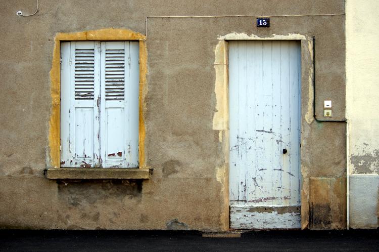 Roanne, rue Auguste Dourdein, mai 2013