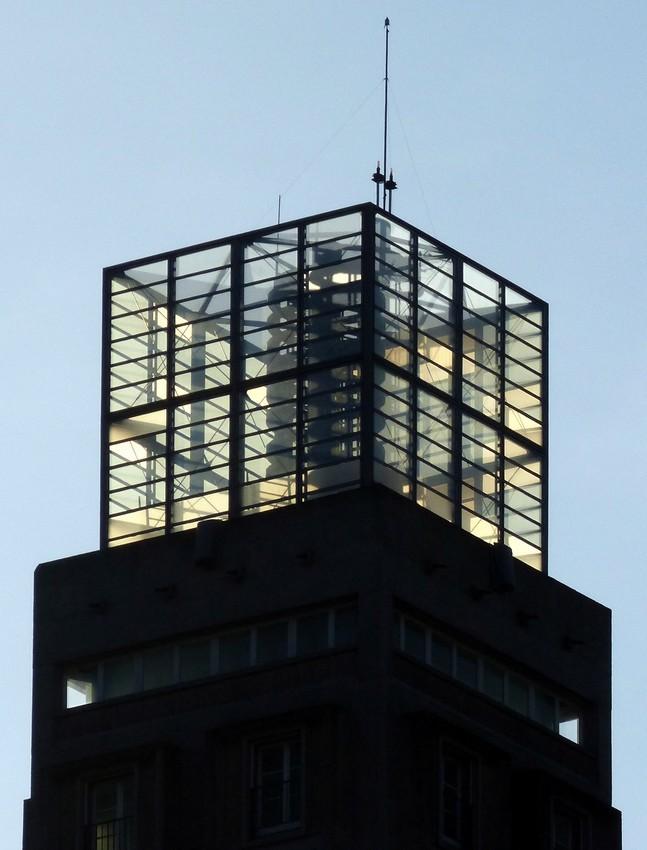 Au sommet de la Tour Perret
