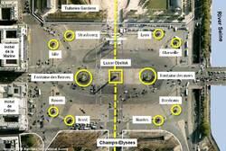 L'esplanade de la Concorde à Paris