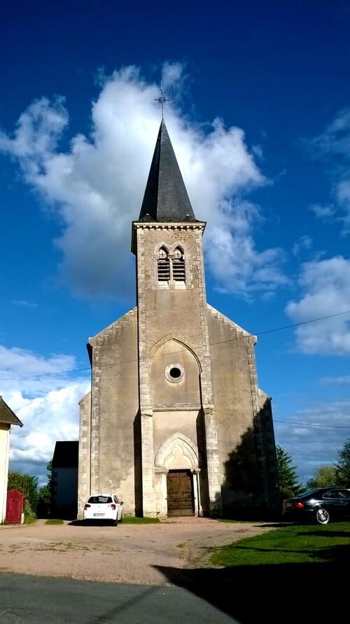 L'église Saint Maurice de Teillet-Argenty