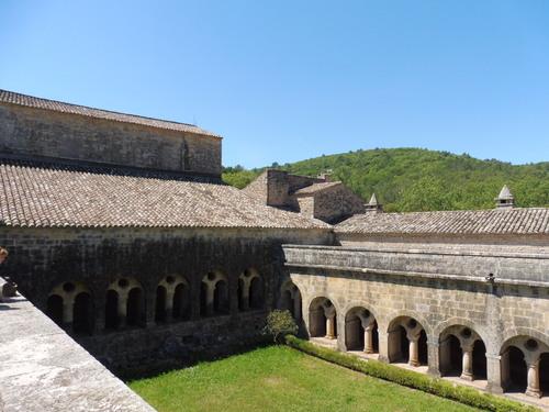 Visite de l'abbaye du Thoronet suite