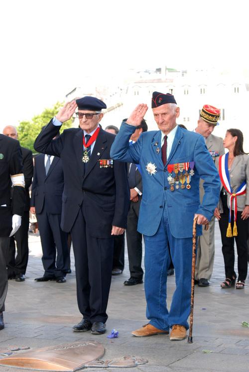* 11 Juin 2015 - Cérémonies du 73e anniversaire  de Bir Hakeim à Paris