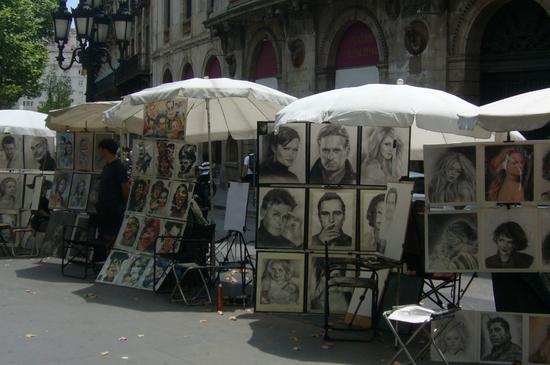 La Rambla-artistes