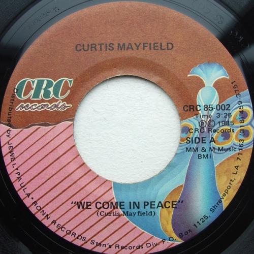 1985 : Single SP 7 Inch CRC Records CRC 85-002 [ US ]
