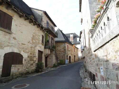 Visite du village de Turenne