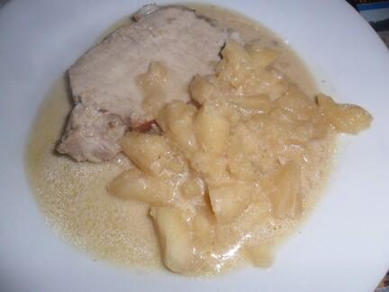 *** Rôti de porc au cidre ***