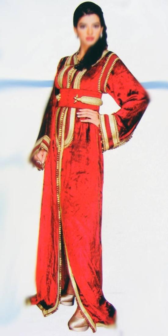 Caftan marocaine en ligne pour mariage oriental TAK-S630