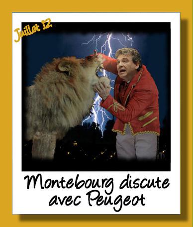 Montebourg et Peugeot