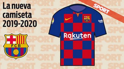 maillot domicile 2019-2020 de Barcelone prediction