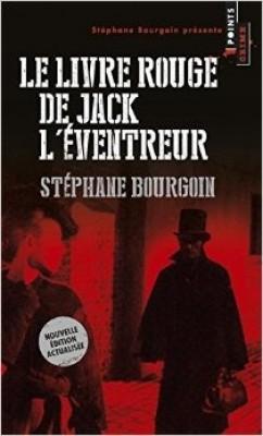 Couverture de Le Livre rouge de Jack l'Éventreur