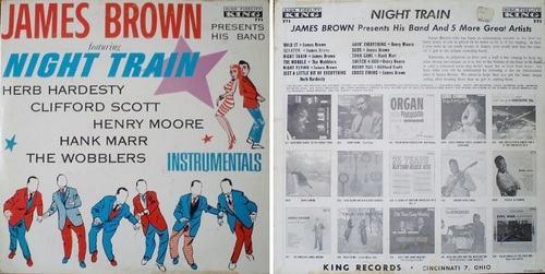 JAMES BROWN - NIGHT TRAIN - TWIST AROUND - & JUMP AROUND ALBUMS