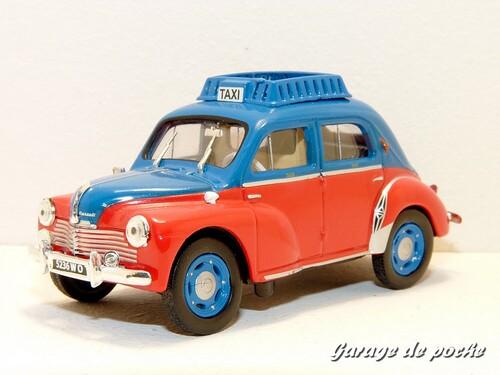 4cv Prototype Taxi 1953