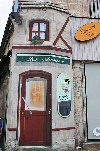 trompe l'oeil Angoulême 28
