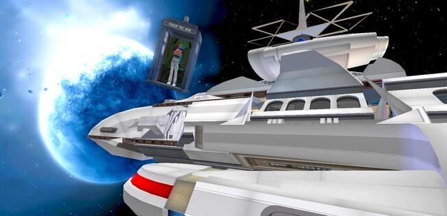 Tardis in Space2 : Découverte du Vaisseau
