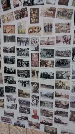 Exposition en l'honneur du centenaire de la Première Guerre Mondiale.