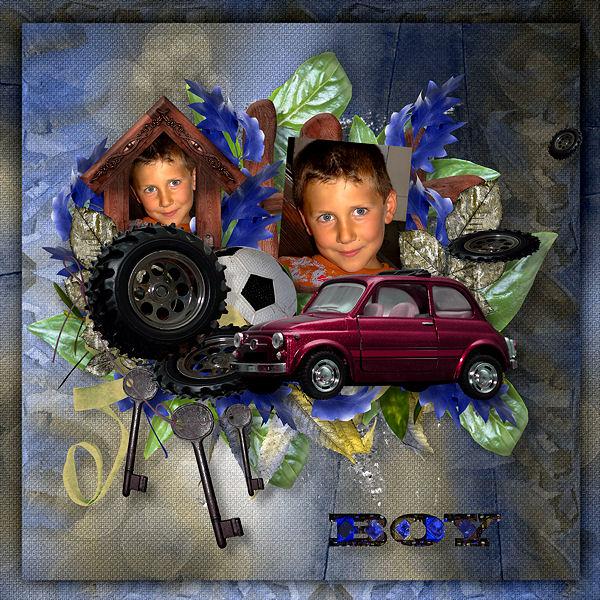 """""""Boy"""" de Xuxper Designs"""