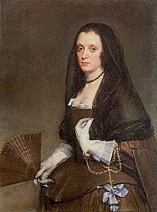 The Lady with a Fan, by Diego Velazquez