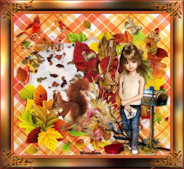 L'automne de Sabrina