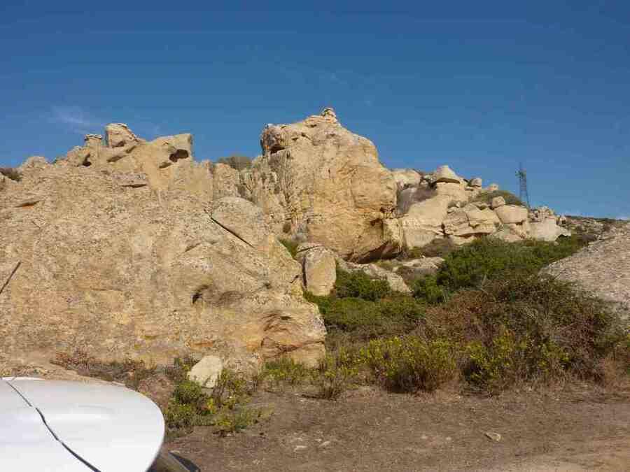 Les rochers insolites