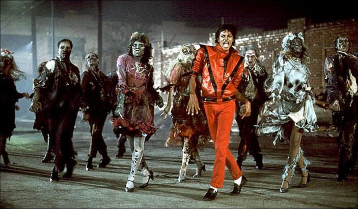 Thriller, le clip