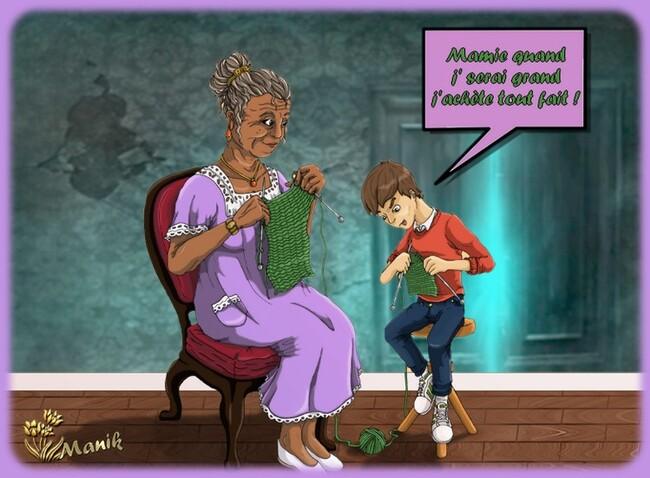 Récape du défi Papy & Mamy