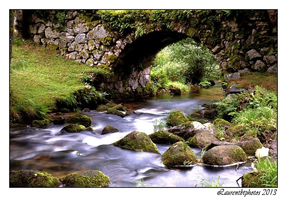 Le petit pont sur le Rudlin Vosges
