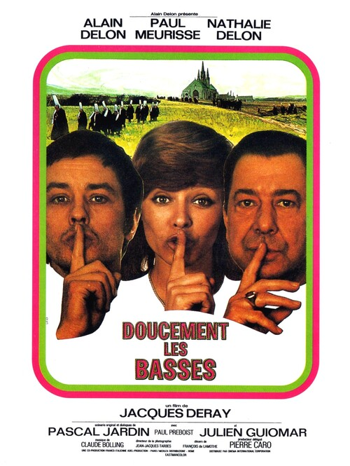 DOUCEMENT LES BASSES - ALAIN DELON BOX OFFICE 1971