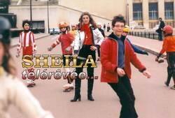 Février 1978, Sheila skating-girl  / NOUVEAUTE EXCLU
