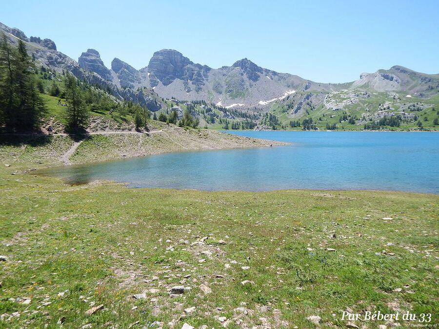 le lac d'Allos dept 04 (3)