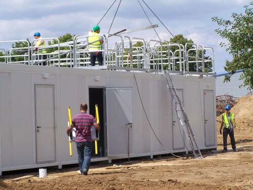 Installation des salles de classe provisoire : les bâtiments modulaires