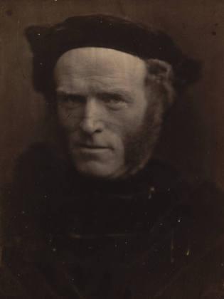 Julia Margaret Cameron. Tom Hughes M.P. 1865