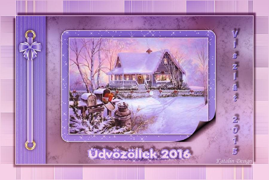 üdvözöllek 2016