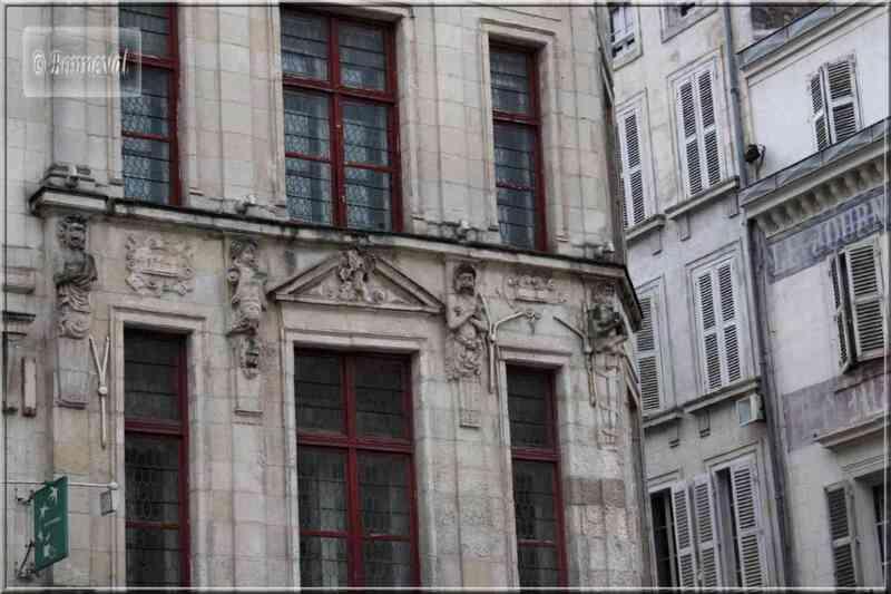 La Rochelle rue du Temple Maison Renaissance