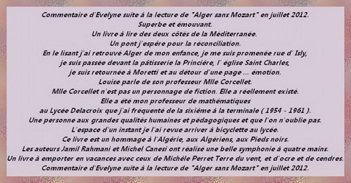 Alger Sans Mozart Le Petit Monde De Babou