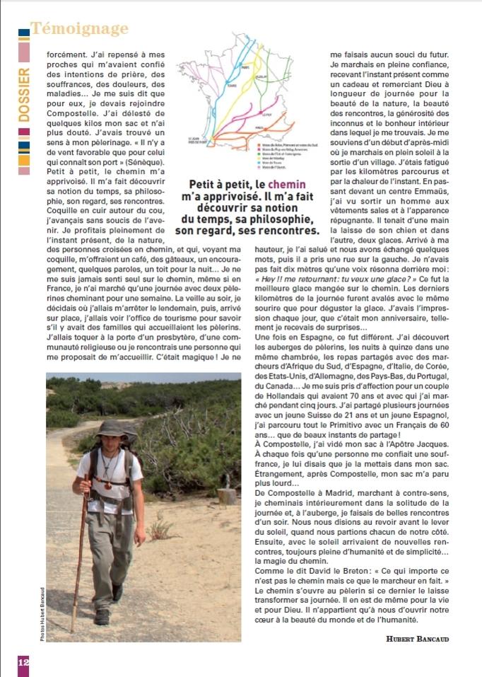 Journal des communautés catholiques du pôle missionnaire de Provins n°42, page 12.